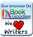 Our interview on Book Goodies badge